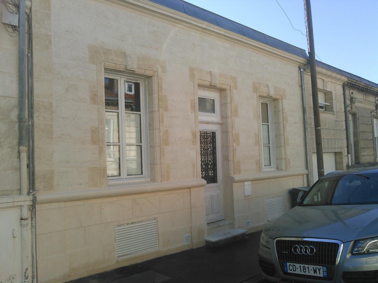 Façade Bordelaise Rue François Marceau à Bordeaux
