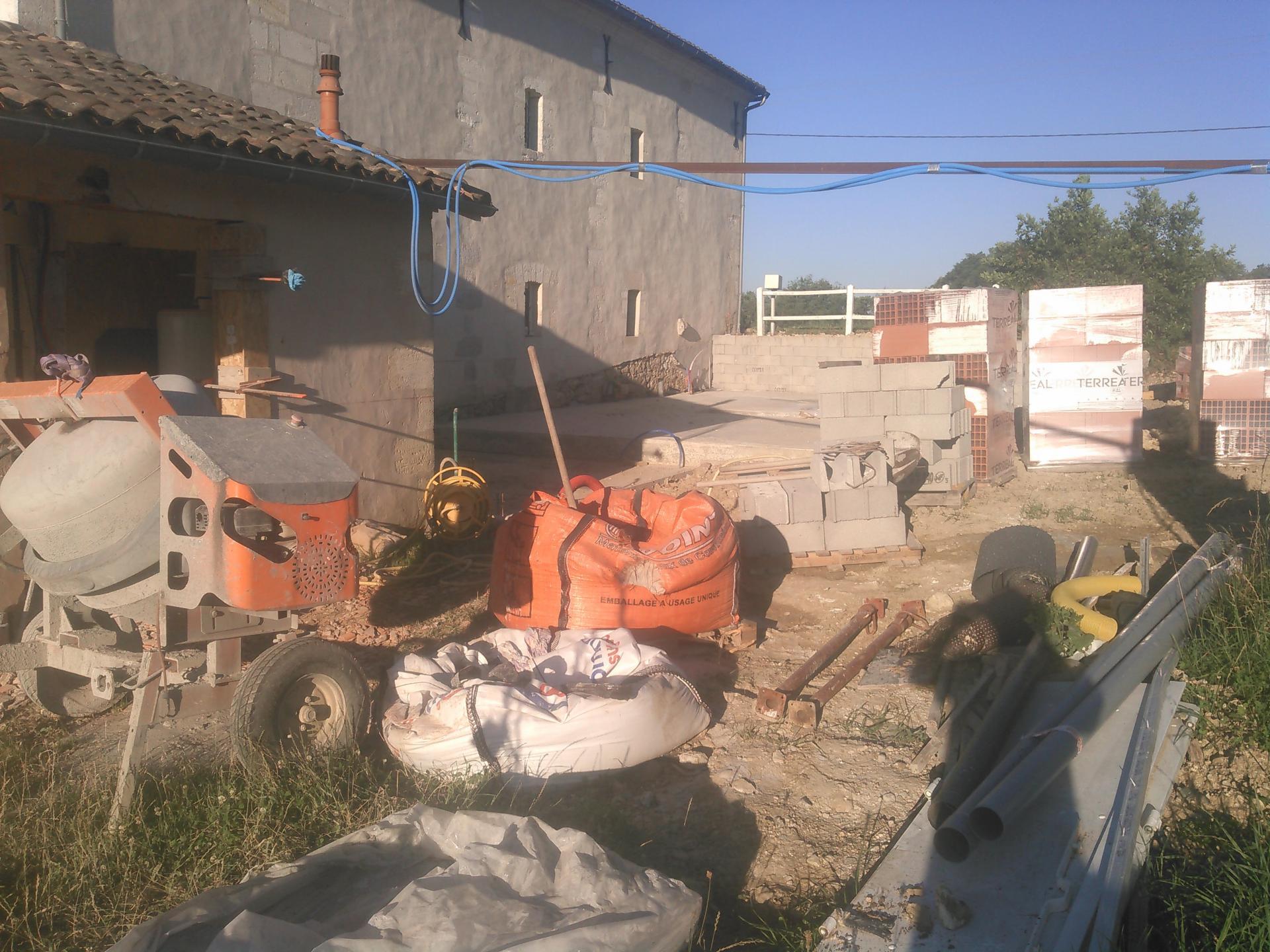Construction d'extension